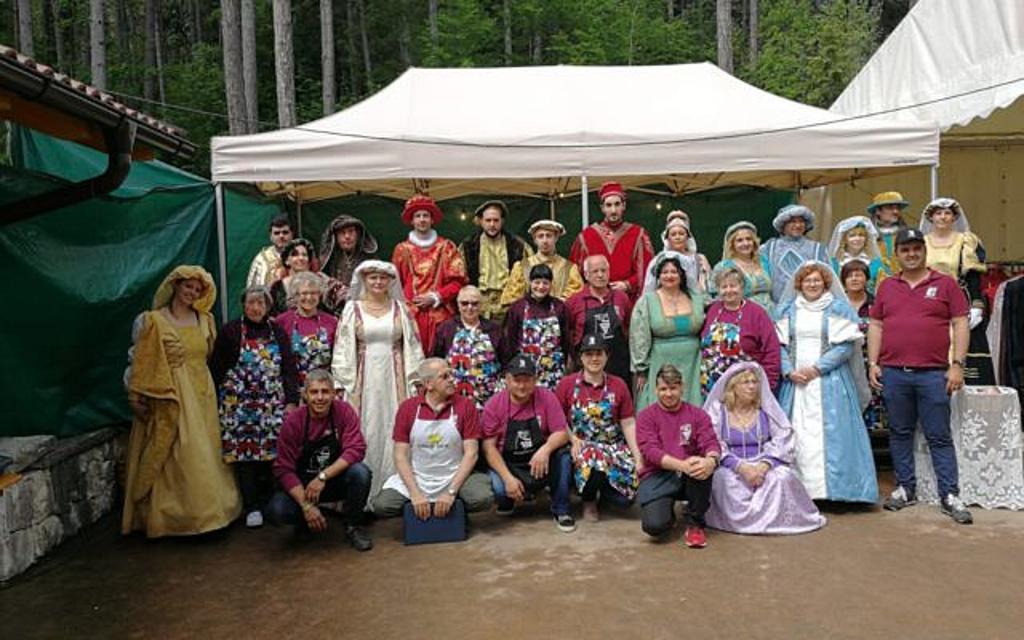 Volontari della Pro Loco di Flavon