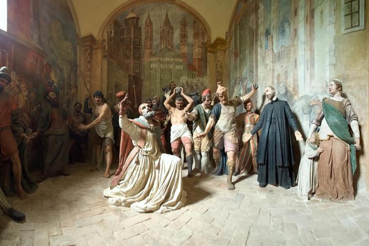 Sacro Monte di Crea, Cappella 1