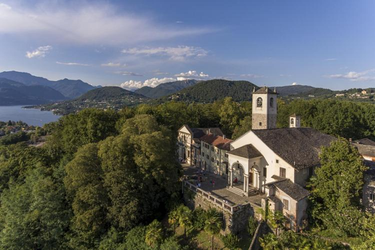 Veduta area, Sacro Monte di Orta