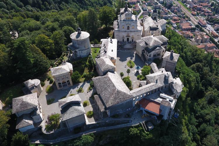 Veduta area Sacro Monte di Varallo