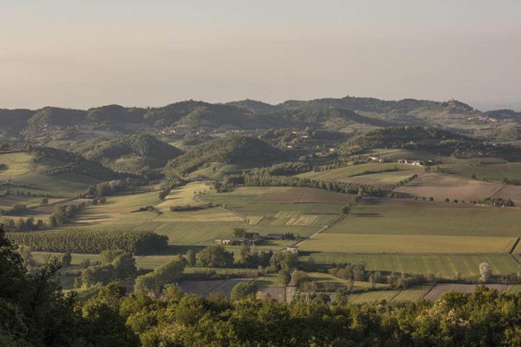 Panorama dal Sacro Monte di Crea