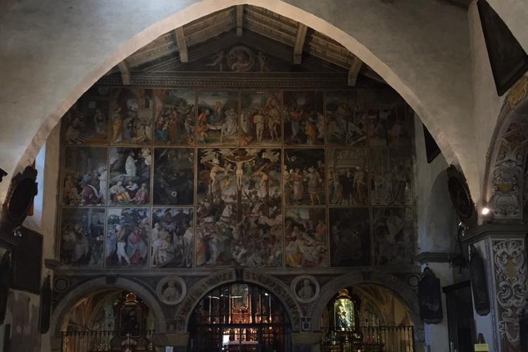 Chiesa Santa Maria delle Grazie, parete gaudenziana