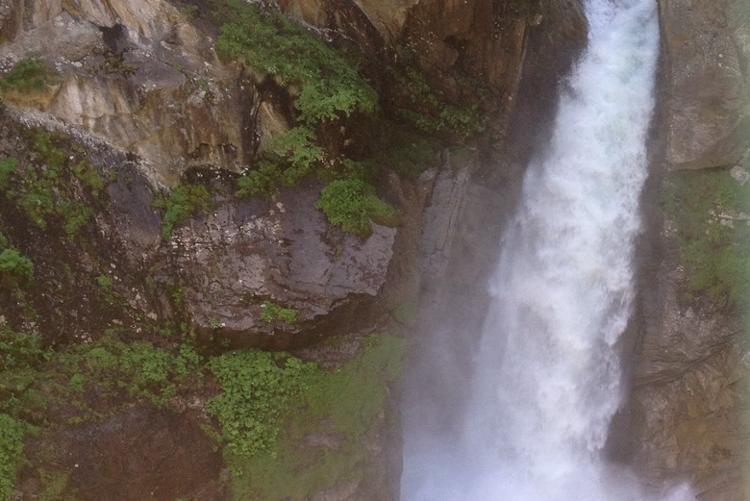 Alagna Valsesia, caldaie del Sesia nei pressi dell'alpe Pile
