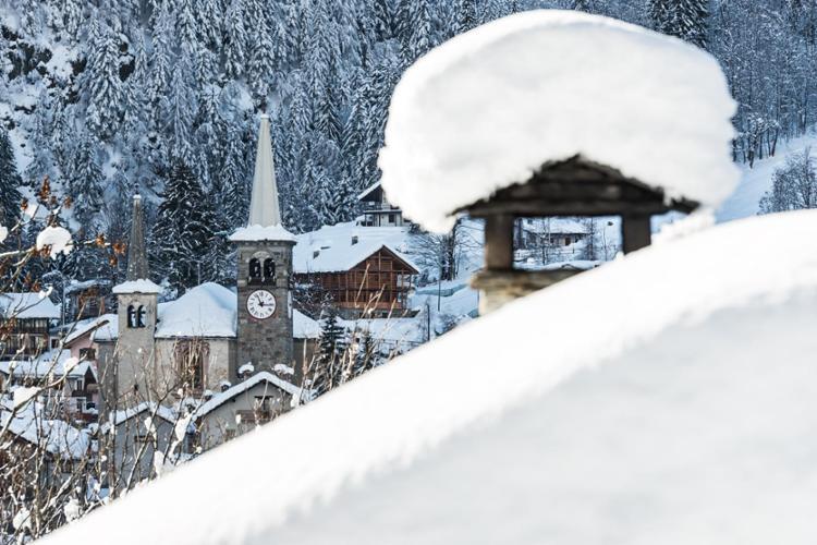Varallo nella stagione invernale