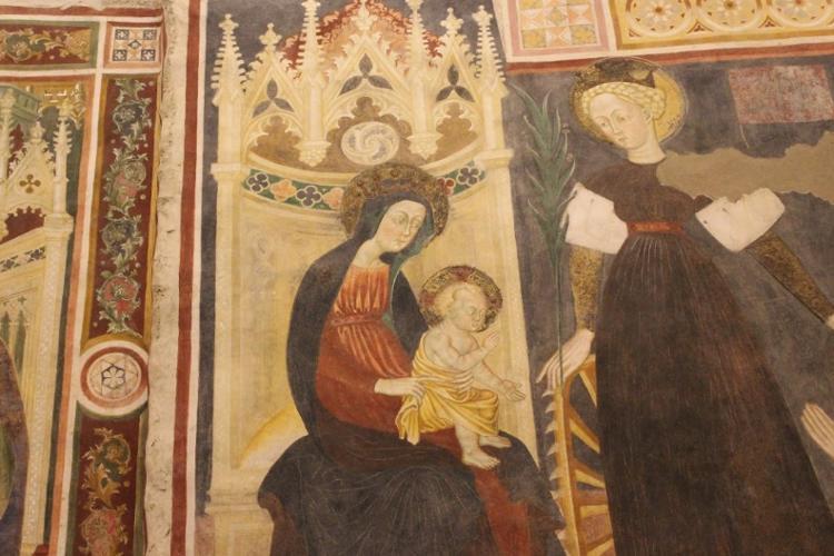 SMV-affreschi della cripta