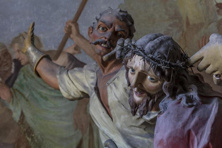 Cappella VIII - Incoronazione di spine