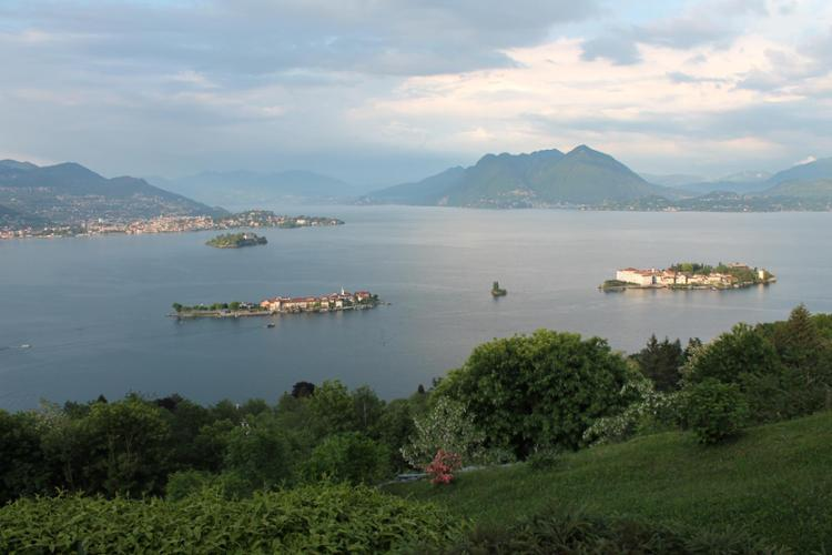 Il lago Maggiore, le isole
