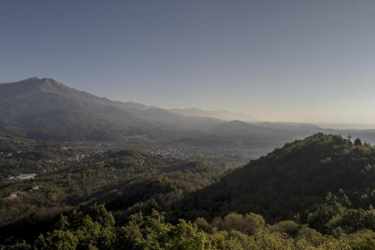 Veduta dal Sacro Monte di Belmonte